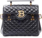 Balmain BBuzz 23 Quilted Lamb Leather Shoulder Bag