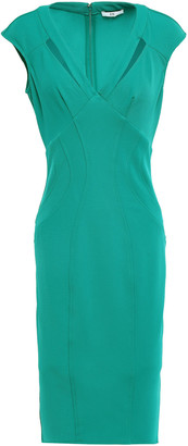 ZAC Zac Posen Joni Cutout Stretch-twill Dress