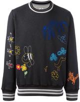 Vivienne Westwood Man embroidered sweatshirt