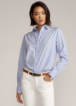 Ralph Lauren Adrien Striped Cotton Shirt