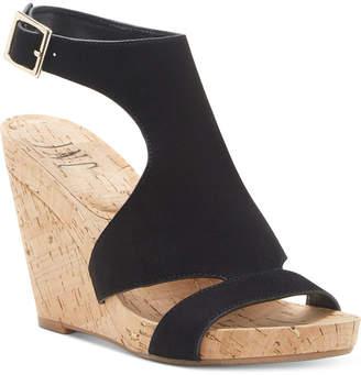 INC International Concepts Inc Women Lizanne Shielded Wedge Sandals, Women Shoes