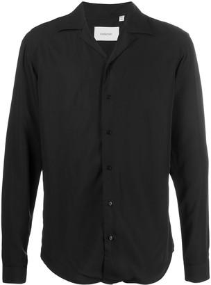 Costumein Spread-Collar Long-Sleeve Shirt