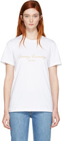 Opening Ceremony White Original Script T-Shirt