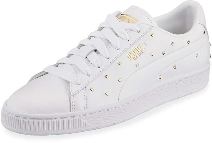Basket Heart Studs Sneakers