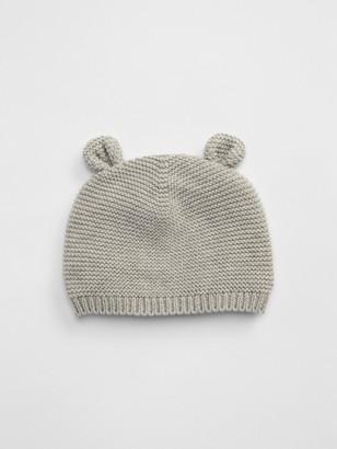 Gap Baby Organic Cotton Brannan Bear Beanie