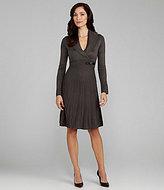 Jessica Howard Pintuck Sweater Dress