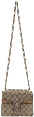 Gucci Beige Mini GG Dionysus Shoulder Bag