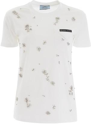 Prada Crystal T-shirt