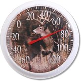"""Taylor Precision Products Taylor - Springfield 90007-22 13.25"""" Deer Low Profile Patio Thermometer"""