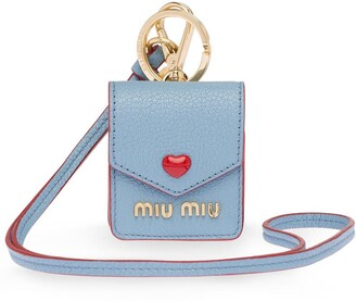 Miu Miu Madras Love earphone case