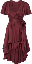 Zimmermann Flounce Wrap Dress