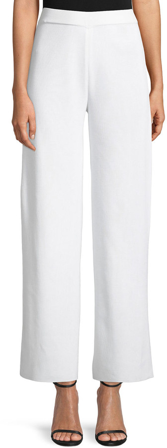Misook Plus Size Demi Palazzo Wide-Leg Pants