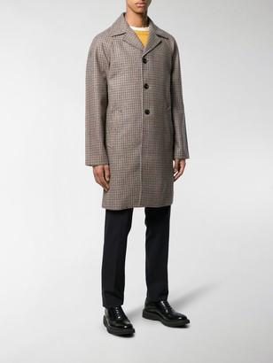 Prada Tweed Single-Breasted Coat
