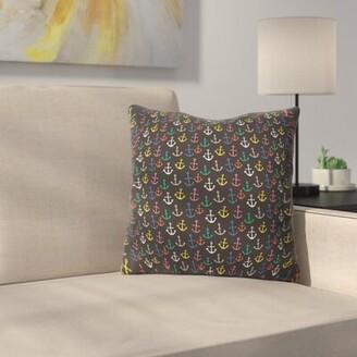 "Anchor Pillow East Urban Home Size: 16"" x 16"""
