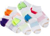Gold Toe 6-pk. Double Stripe Low-Cut Liner Socks - Girls