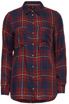 Only Long Sleeve Plaid Shirt