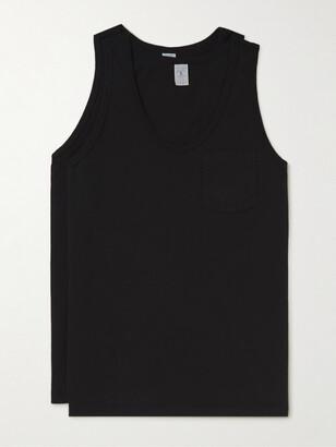 Velva Sheen Two-Pack Cotton-Jersey Tank Tops