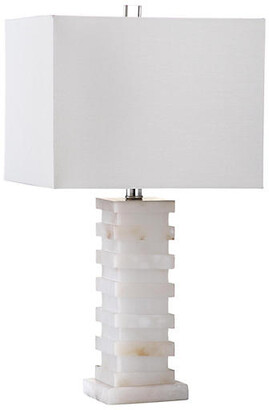 One Kings Lane Thebes Table Lamp - Alabaster