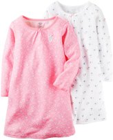 Carter's 2 Pack Nightgowns (Toddler/Kid) - Print - 6/7