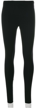 NO KA 'OI Contrast Detail Leggings