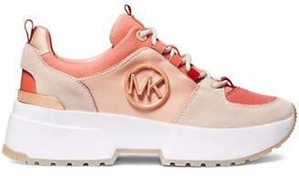 MICHAEL Michael Kors Cosmo Mixed-Media Trainers