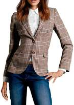 FACE N FACE Women's Cotton Long Sleeve Slim Short Blazer Suit Jacket