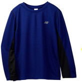 New Balance Long Sleeve Performance Shirt (Little Boys & Big Boys)
