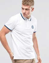 Jack and Jones Twin Tipped Embroidered Polo