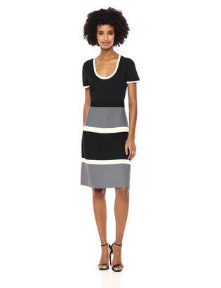 Anne Klein Women's FIT and Flare Sweater Dress