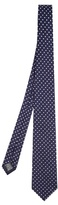 Dunhill Polka-dot embroidered tie