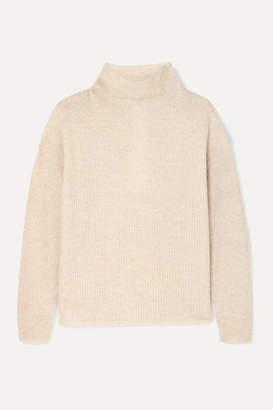 Max Mara Leisure Rib-knit Sweater - Beige