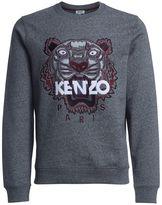 Kenzo Fleece With Grey Cotton Tiger