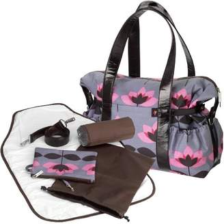 Tiny Tillia Pink Tulip Baby Changing Shoulder Bag