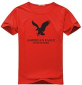 American Eagle Outfitters Logo for Men Printed Short Sleeve Tee T-shirt
