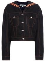 Kenzo Embellished Cotton Jacket