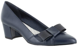 Easy Street Shoes Triana Bow Pumps Women Shoes