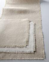 Horchow Burlap Table Linens