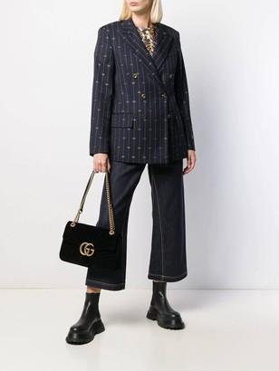 Gucci Striped Navy Blazer