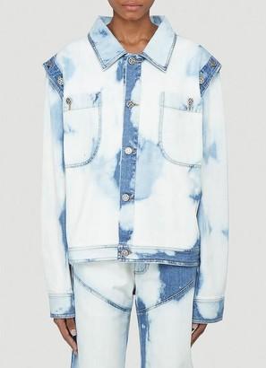 Telfar Detachable Sleeve Bleached Jacket