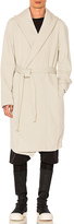 Rick Owens Spa Robe in Light Gray. - size M (also in S)