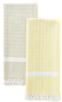 Southern Living Eyelash Fringe Kitchen Towel Pair