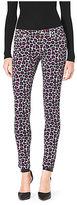 Michael Kors Leopard-Print Skinny Jeans