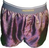 Philippe John wright Men's pure SILK PAISLEY boxer shorts made in France