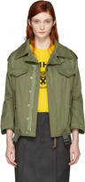 Junya Watanabe Green Military Jacket