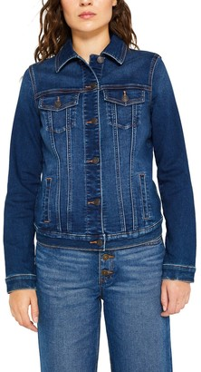 Esprit Fitted Denim Jacket with Pockets