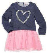 Design History Toddler's & Little Girl's Heart Graphic Fit-&-Flare Dress