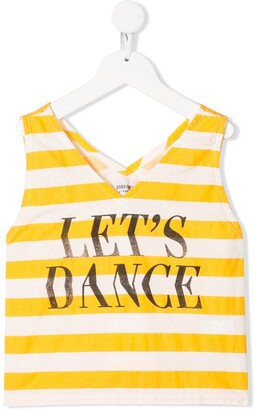 Bobo Choses Let's Dance striped tank top