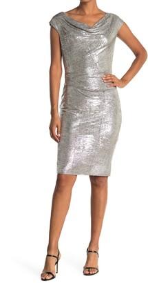 Vince Camuto Glitter Knit Bodycon Dress