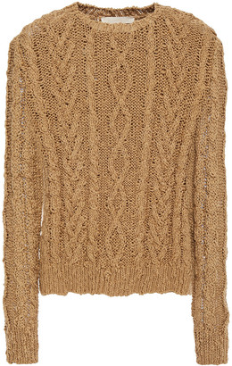 Vanessa Bruno Cable-knit Cotton Sweater