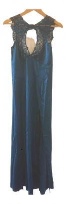 Agent Provocateur Blue Silk Dresses